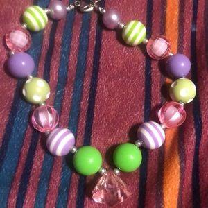 baby's bubble gum necklace